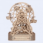 Wooden.City Ferris Wheel Model Kit - Laser Cut Wood - 429 Parts